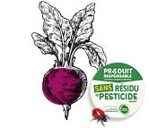 Dessin de la betterave zéro résidu de pesticide Kultive